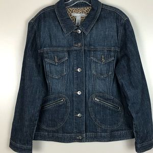 Chico's Jean Jacket size 3 (xl)